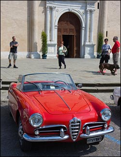 Seeing Italy In A Vintage Italian Car Wandering Italy