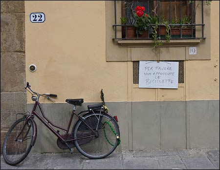 florence bicycle