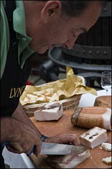 pciture of lardo being cut