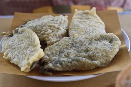 stuffed sage leaves