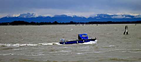 venice lagoon picture