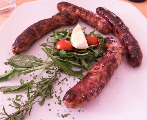 sausages picture