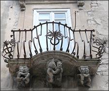 ragusa picture, ragusa balcony, ragusa sicily